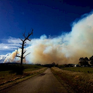 Gippsland fire warning
